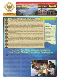 Sekilas Warta BPK Perwakilan Provinsi Sumatera Utara edisi Februari 2010